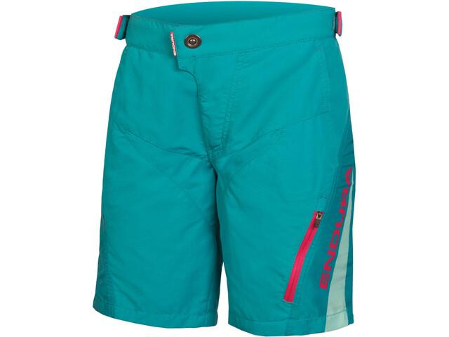 Endura MT500JR Spodnie krótkie Dzieci, aquamarin